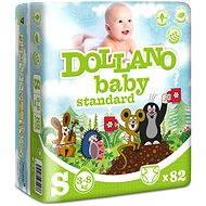 DOLLANO Baby Standard S 82 ks - Dětské pleny