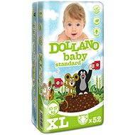 DOLLANO Baby Standard XL 52 ks - Dětské pleny