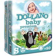 DOLLANO Baby Premium S 80 ks - Dětské pleny
