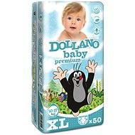 DOLLANO Baby Premium XL 50 ks - Dětské pleny