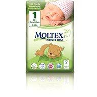 MOLTEX nature no. 1 Newborn vel. 1 (23 ks) - Dětské pleny