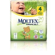 MOLTEX nature no. 1 vel. 4 Maxi 7–18 kg (30 ks) - Dětské pleny