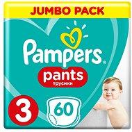 PAMPERS Pants Midi vel. 3 (60 ks) - Jumbo Pack - Plenkové kalhotky