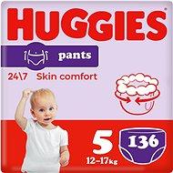 HUGGIES Pants Jumbo vel. 5 (136 ks) - Plenkové kalhotky