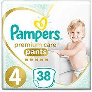 PAMPERS Pants Premium Care Maxi vel. 4 (38 ks) - Plenkové kalhotky