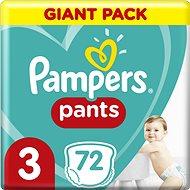 PAMPERS Pants Midi vel. 3 (72 ks) - Plenkové kalhotky