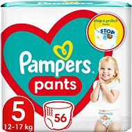 PAMPERS Pants Junior vel. 5 (52 ks) - Plenkové kalhotky