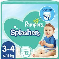 PAMPERS Splashers vel. 3 (5–9 kg) 12 ks - Plenkové plavky