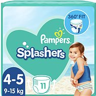 PAMPERS Splashers vel. 4 (8–14 kg) 11 ks - Plenkové plavky