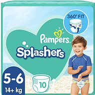 PAMPERS Splashers vel. 5 (12–18 kg) 10 ks - Plenkové plavky