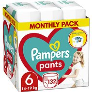 PAMPERS Pants size 6 (132 pcs) - Nappies