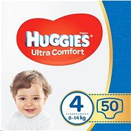 HUGGIES Ultra Comfort Jumbo Size 4 (50 pcs) - Baby Nappies