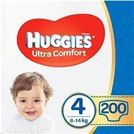 HUGGIES Ultra Comfort Jumbo vel. 4 (200 ks) - Dětské pleny