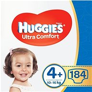 HUGGIES Ultra Comfort Jumbo vel. 4+ (184 ks) - Dětské pleny