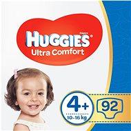 HUGGIES Ultra Comfort Jumbo vel. 4+ (2× 46 ks)