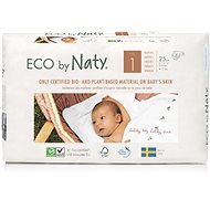 NATY Newborn size 1 (25 pcs) - Eco Diapers