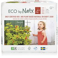 NATY Maxi + size 4+ (24 pcs) - Eco Diapers