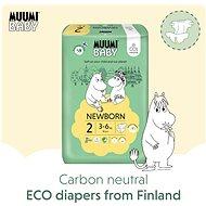 MUUMI BABY Mini vel. 2 - měsíční balení EKO plen (174 ks) - Dětské pleny