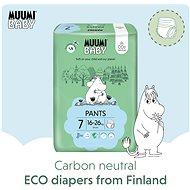 MUUMI BABY Walkers Extra Large vel. 7 - měsíční balení EKO plenkových kalhotek (102 ks) - Plenkové kalhotky