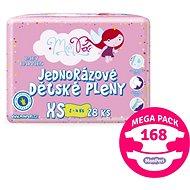 MonPeri Klasik Mega Pack vel. XS (168 ks) - Dětské pleny