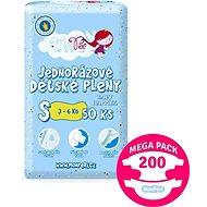 MonPeri Klasik Mega Pack vel. S (200 ks) - Dětské pleny