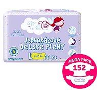 MonPeri Klasik Mega Pack vel. L (152 ks) - Dětské pleny