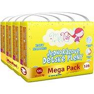 MonPeri Klasik Mega Pack vel. XXL (128 ks) - Dětské pleny