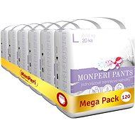 MonPeri Pants Mega Pack vel. L (120 ks) - Plenkové kalhotky