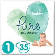 PAMPERS Pure Protection vel. 1 (35 ks)