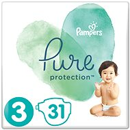 PAMPERS Pure Protection vel. 3 (31 ks)