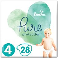PAMPERS Pure Protection vel. 4 (28 ks)