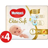 HUGGIES Elite Soft vel. 1 (104 ks)