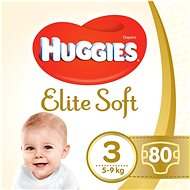 HUGGIES Elite Soft vel. 3 (80 ks)
