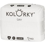KOLORKY DAY NATURE vel. S (25 ks) - Eko pleny