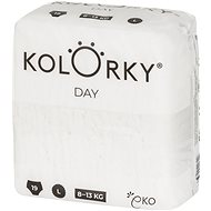 KOLORKY DAY NATURE vel. L (19 ks) - Eko pleny