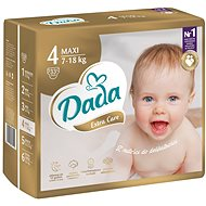 DADA Extra Care MAXI vel. 4, 33 ks - Dětské pleny