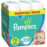 PAMPERS New Baby vel. 2 (228 ks)