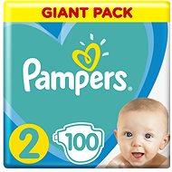 PAMPERS Active Baby vel. 2 (100ks) 4–8kg
