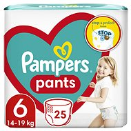 Pampers Pants vel. 6 (25 ks)