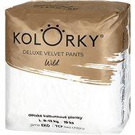 KOLORKY DELUXE VELVET PANTS - wild - L (8–13 kg) - Eko pleny