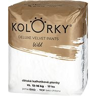 KOLORKY DELUXE VELVET PANTS - wild - XL (12–16 kg) - Eko pleny