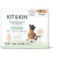 Kit & Kin Eko Naturally Dry Nappies vel. 3 (34 ks)