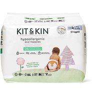 Kit & Kin Eko Naturally Dry Nappies vel. 4 (34 ks)