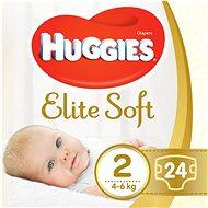 HUGGIES Elite Soft vel. 2 (24 ks) - Dětské pleny