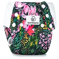 Bamboolik Tréninkové kalhotky vel. M Květy - Plenkové kalhotky