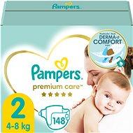 PAMPERS Premium Care, vel.  2 (148 ks) - Dětské pleny