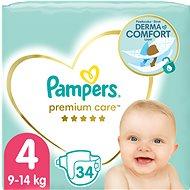 PAMPERS Premium Care, vel.  4 (34 ks) - Dětské pleny