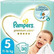 PAMPERS Premium Care, vel.  5 (30 ks) - Dětské pleny