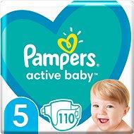 PAMPERS Active Baby vel.  5 (110 ks) - měsíční balení - Dětské pleny