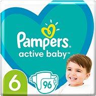 PAMPERS Active Baby vel.  6 (96 ks) - měsíční balení - Dětské pleny